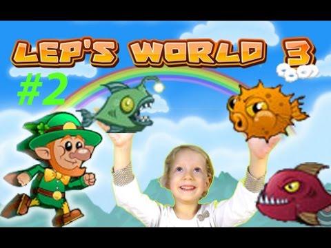 Игра похожая на Марио Leps World 3   Lets Play Gameplay продолжаем играть с Миланой   ЧАСТЬ #2