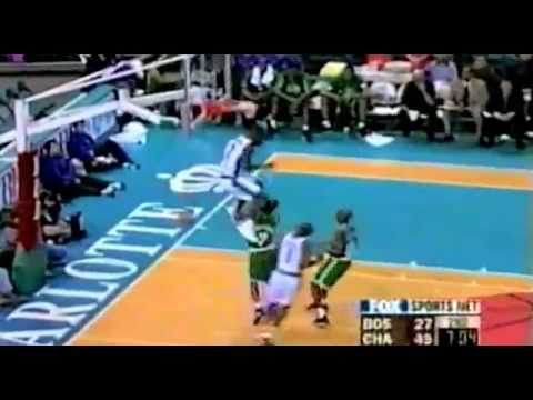 Ricky Davis Reverse Alley Oop Dunk from Baron Davis