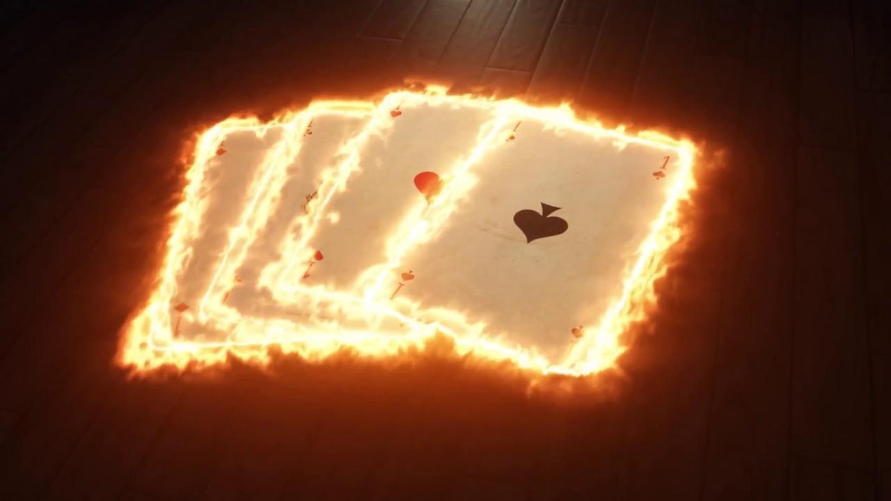 Burning card Element + Saber effects - YouTube