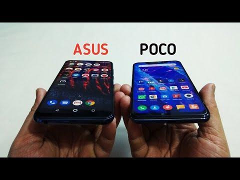 Poco F1 Vs Asus Zenfone Max Pro M2 Full Comparison - Camera,Design,Battery,Perfomance
