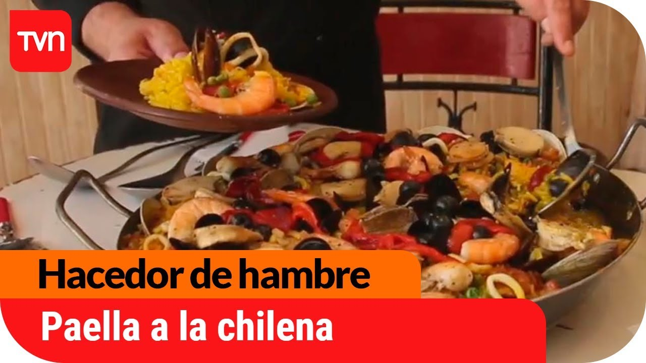 paella a la chilena para uchuparse los dedosu en reaca hacedor de hambre