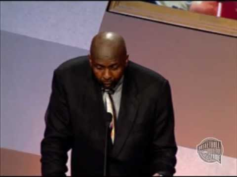 Moses E. Malone's Basketball Hall of Fame Enshrinement Speech