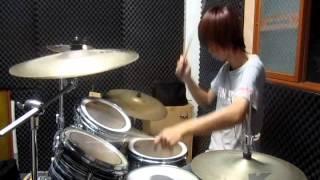 ゾロ ZORO   KITSUNE  Drum Cover by YuKo