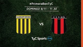 Almirante Brown vs Defensores de Belgrano full match