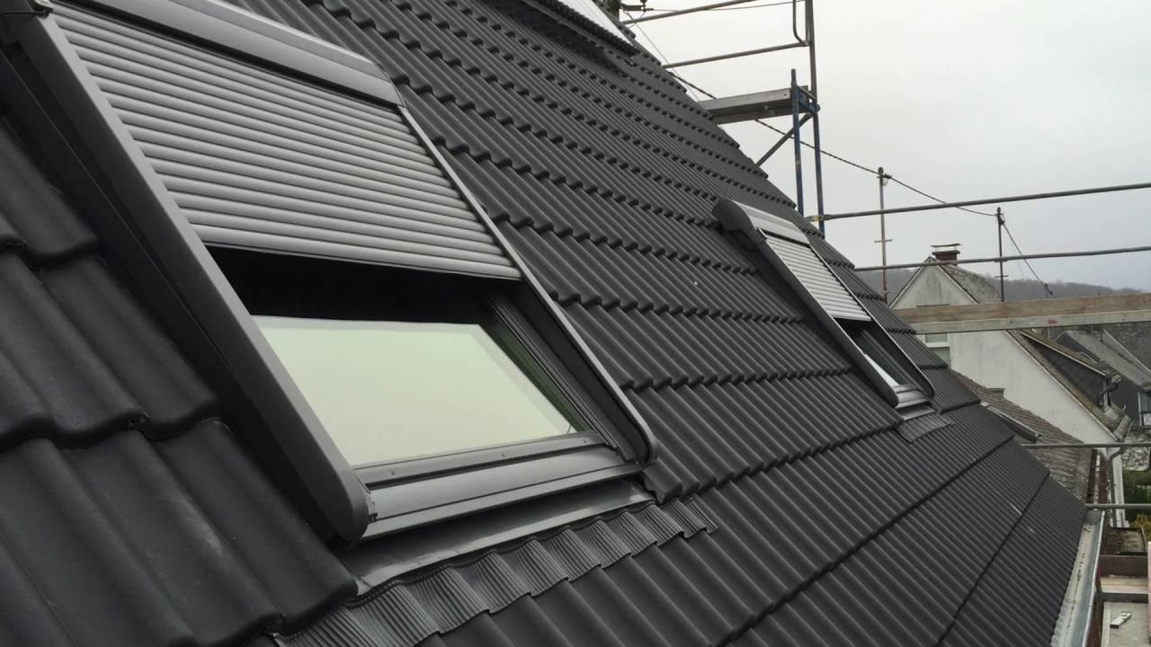 velux integra elektrisches dachfenster youtube