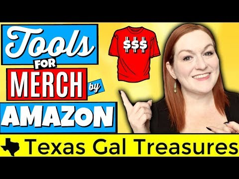 Merch By Amazon 2018 - The Tools I Use to be Successful on Amazon Merch & Printful Etsy