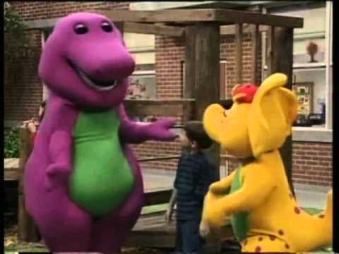 Barney - On the Move (Greek)