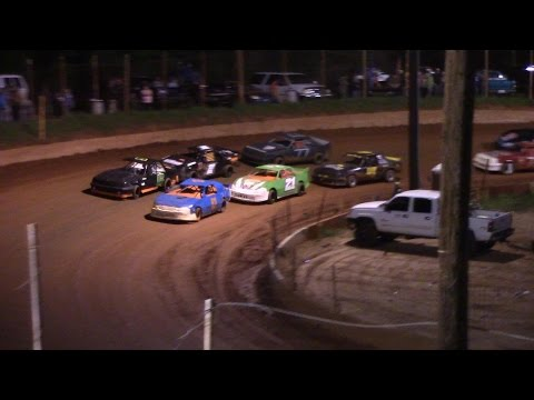 Winder Barrow Speedway Four Cylinders B's Feature Race 4/8/17