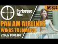 PAN AM AIRLINES  WINGS TO JAMAICA 1960s TRAVELOGUE MOVIE   59874