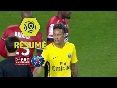 EA Guingamp - Paris Saint-Germain (0-3) - Résumé - (EAG - PSG) / 2017-18