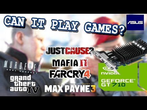 [Nvidia GT710] - CAN IT PLAY GAMES ? [6 Demanding Games Tested] [Find Out !]