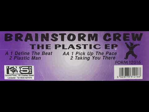 The Brainstorm Crew: Plastic Man: The Plastic EP: 1992