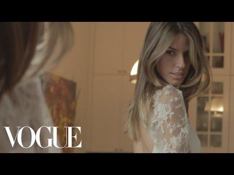 The Custom Erdem Wedding Dress - Flavia Kelson and Ricardo Pintado - Vogue Weddings