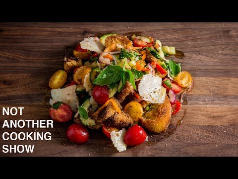 PANZANELLA SALAD | TUSCAN BREAD AND TOMATO SALAD
