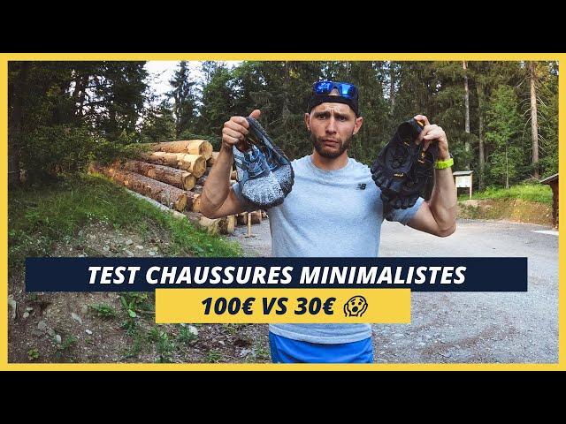 CHAUSSURES MINIMALISTES : 100€ Vs 30€