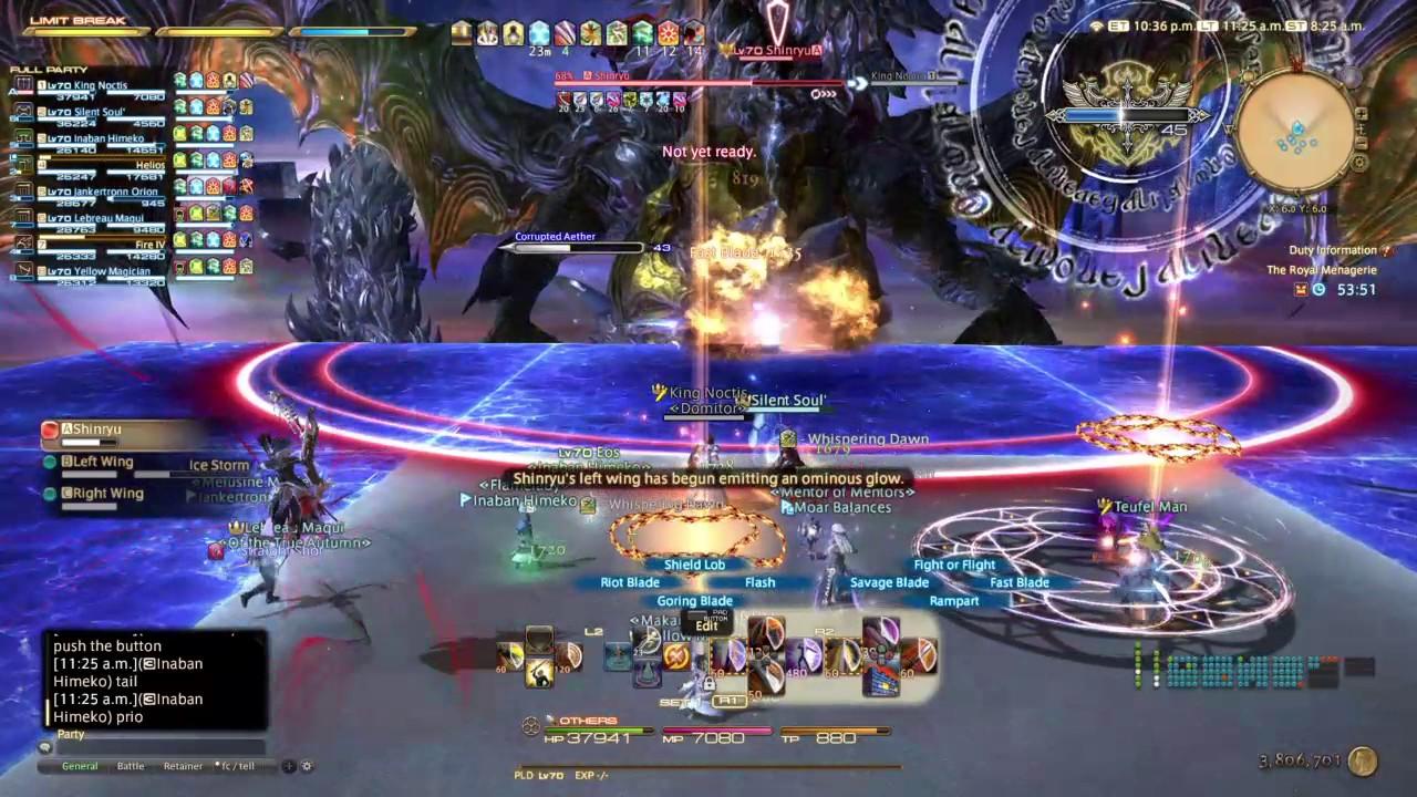FFXIV StormBlood Final Boss