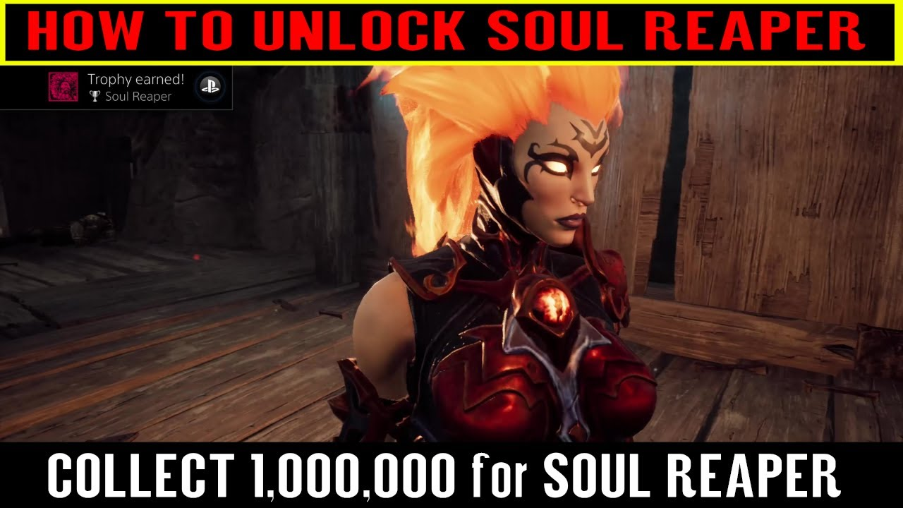 Darksiders 3 Soul Reaper Fast & Easy Souls for Soul Reaper Trophy /  Achievement Guide