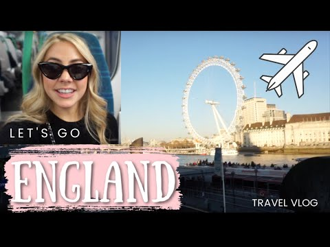 My Trip to England | Travel Vlog | London & Cambridge | TheL