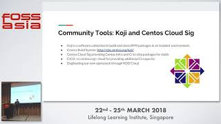 Delivering a bleeding edge community-led openstack distribution: RDO - FOSSASIA 2018