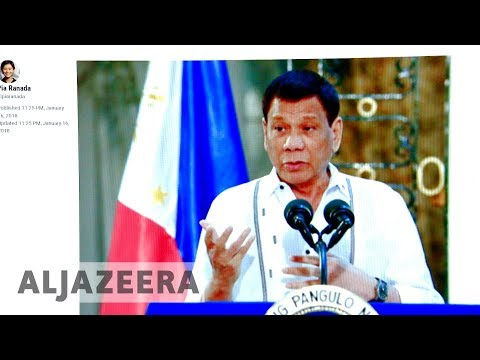 Duterte denies ordering shutdown of news site Rappler 🇵🇭