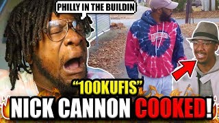 100Kufis- NICK CANNON DISS (REACTION!)
