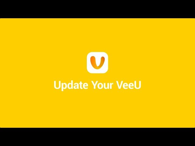 Update to the latest VeeU for more fun and rewards!