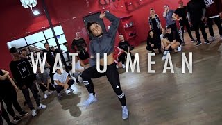 This class is lit!! Jade vibing out! Choreo by Anze Skrube Song by ...