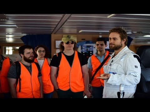 CSIRO's world-class research vessel: it becomes a floating classroom.
