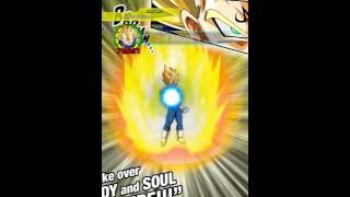 Showing of Gogeta on DBZ Dokkan Battle.