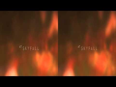 AdeleSkyfall Lyric Video 3D