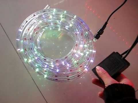 3wire rope light flashing and chasing effect with controller youtube 3wire rope light flashing and chasing effect with controller mozeypictures Choice Image