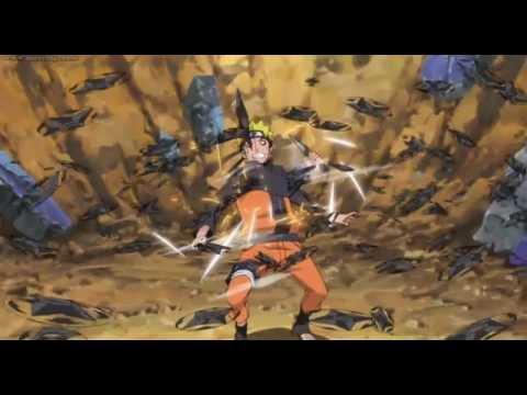 Naruto vs Konohamaru - Chunin Exam