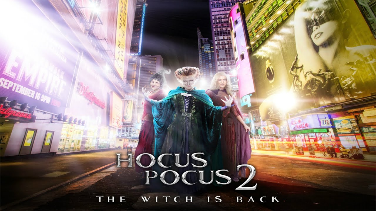 hocus pocus 2 the witch is back youtube