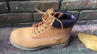 Обзор ботинок Timberland (осень-зима 2016) Yellow