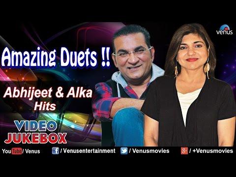 Amazing Duets !! ~ Abhijeet & Alka Yagnik  Bollywood Hits   Jukebox