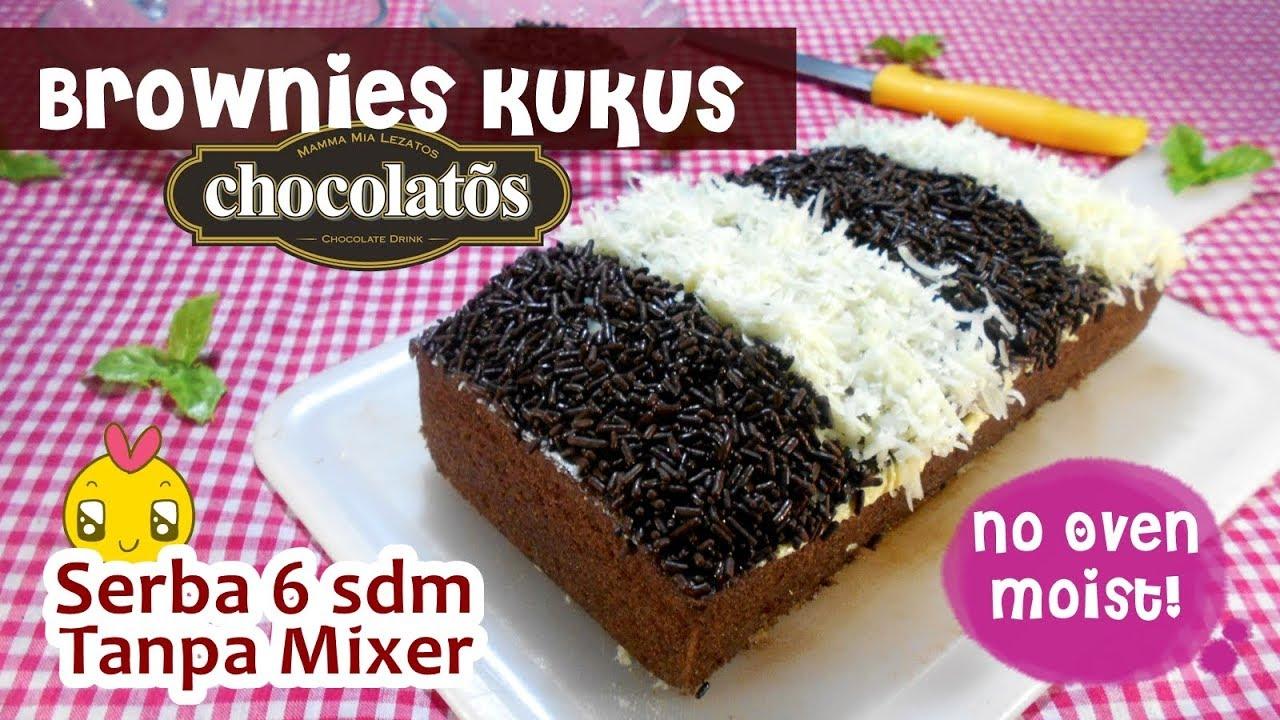 Resep Brownies Kukus Chocolatos Tanpa Ribet Youtube