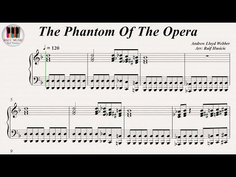 The Phantom Of The Opera (歌劇魅影, Призрак Оперы, Le Fantôme de l'Opéra, El fantasma de la ópera)
