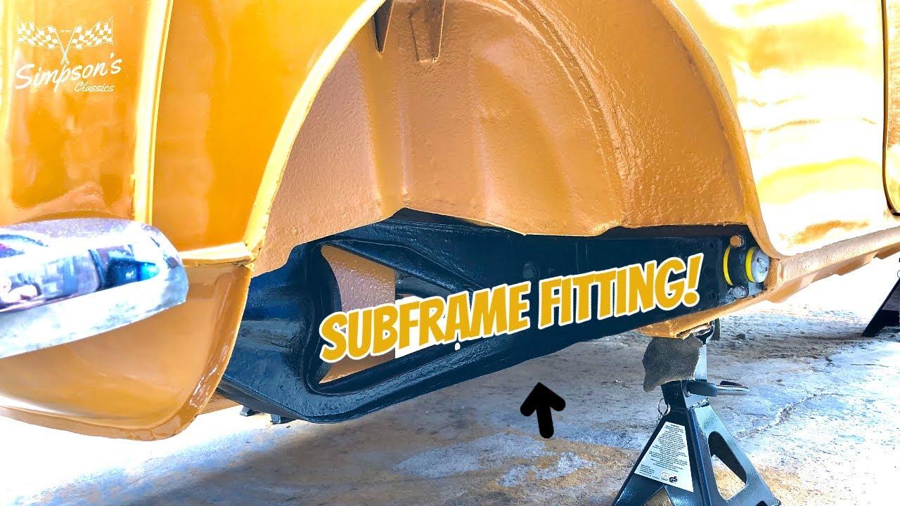 Classic Mini Clubman - Rear Subframe & Steering Rack Refurb