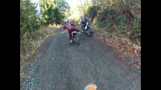 Vedder dirt biking