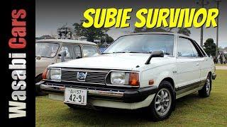 Rare, One-Owner: 1979 Subaru Leone Hardtop GTS