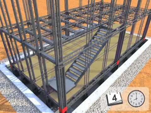 Valter decia struttura futhura casa antisismica fasi di - Struttura in ferro per casa ...