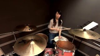 橋本絵夢 Emu Hashimoto drummer pianist from twichem (Tokyo, Japan) ...