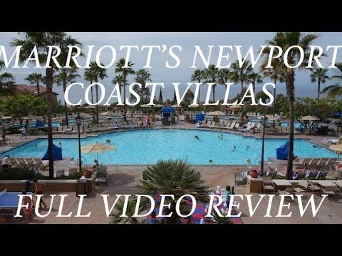 Marriott S Newport Coast Villas Full Video Review