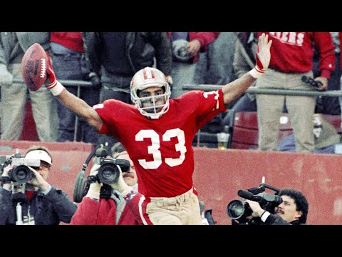 [OC] [Highlight] Today is former 49ers RB Roger Craig's 60th birthday. The 1988 Offensive Player of the Year made 4 Pro Bowls, won 3 Super Bowls, and in 1985, became the first player in NFL history to record 1,000 rushing and receiving yards in a season. Here are the 16 longest TDs of his career