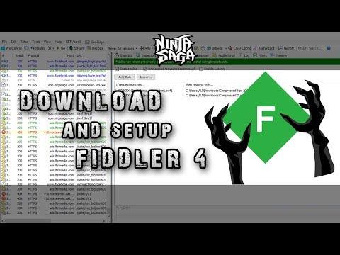 How To Instal Fiddler 2017 indo + Eng