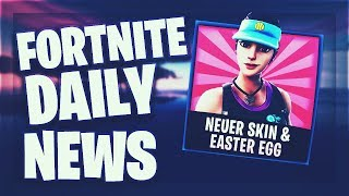 Fortnite Daily News *NEUER* SKIN & EASTER EGG (22 Januar 2019)