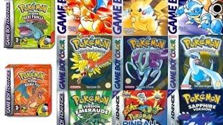Top 5 - Mejores Juegos De Pokemon De Gameboy [EVANS MARIN]