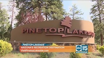Need a vacation? Drive up to Pinetop-Lakeside
