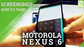 How to Take Screenshot on MOTOROLA Nexus 6 - Screenshot Folder