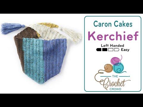 How to Crochet A Kerchief - YouTube